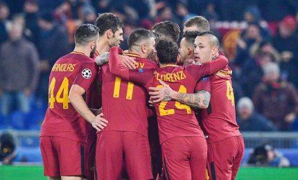 """Roma in testa al girone approda agli ottavi. Di Francesco: """"Nessuno credeva"""""""