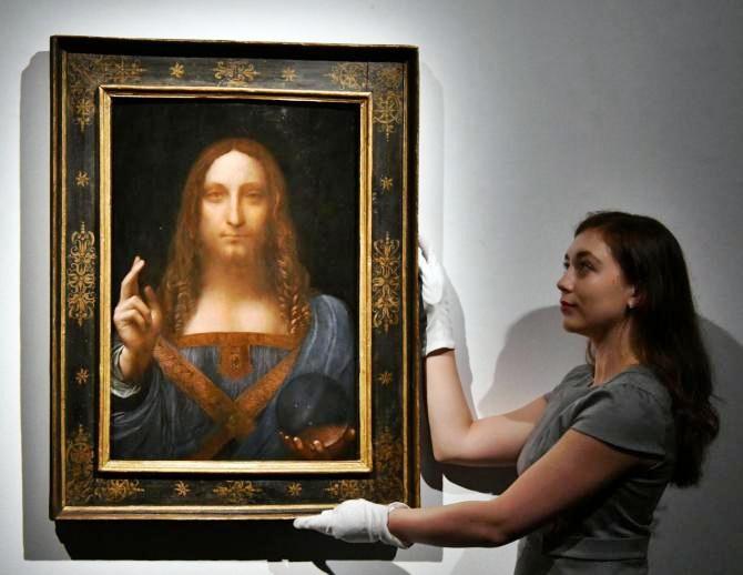 """Svelato il misterioso acquirente del """"Salvator Mundi"""" di Leonardo acquistato per oltre 450 milioni Usd"""