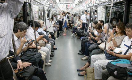 App avvisa che c'è una donna incinta per liberare posto in metro