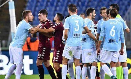 Furia Lazio su Giacomelli, Torino ritrova la vittoria