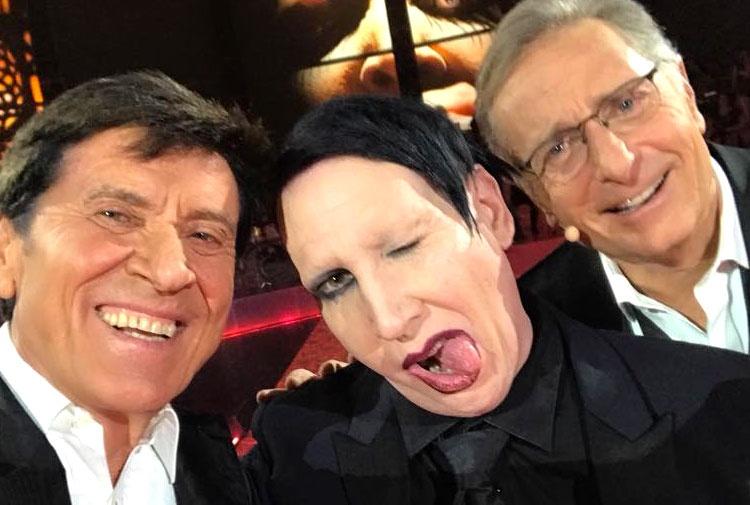 """Gli esorcisti: """"Spegnete la tv"""". Marilyn Manson scatena la polemica"""