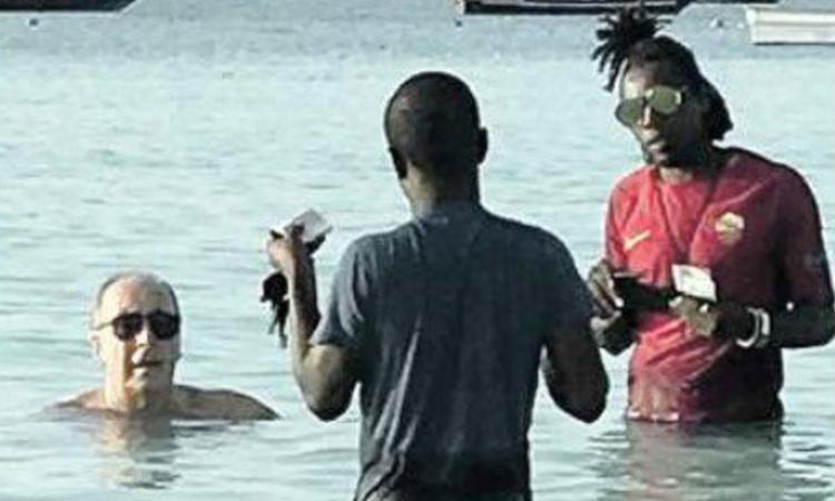 Disastro Italia, Ventura riappare in vacanza a Zanzibar