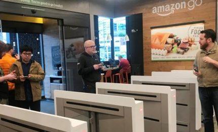 A Seattle primo negozio senza casse