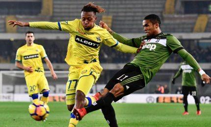 Juve vittoria e polemiche: Khedira-Higuain stendono Chievo in nove