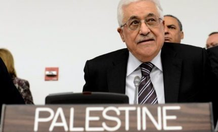 Abu Mazen chiederà a Ue riconoscimento Palestina