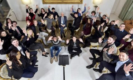 Mattarella incontra i giovani youtuber protagonisti del web