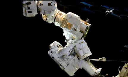 Passeggiata spaziale sull'Iss per riparare il braccio robotico