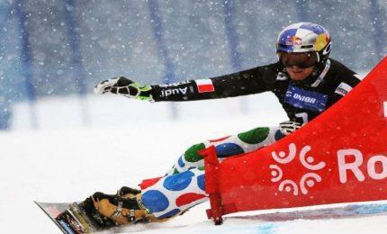 A Cortina atlete Coppa mondo sci unite contro violenza su donne