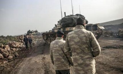 Terzo giorno di offensiva turca contro i curdi in Siria