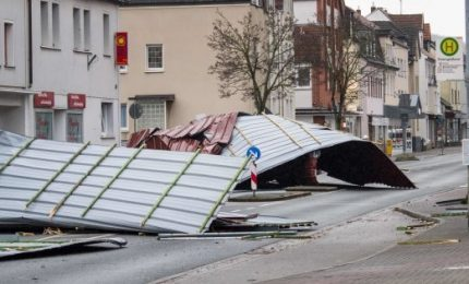 Tempesta Friederike sferza il Nord Europa: 11 morti