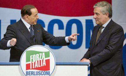 Berlusconi rilancia Tajani ma tiene 'coperto' candidato premier