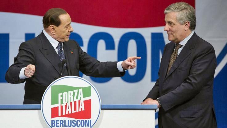 Berlusconi: Tajani sarà capolista in Italia Centrale