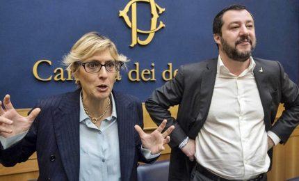 Da Andreotti alla Salvini, la Buongiorno candidata con la Lega