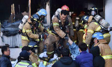 Corea Sud, ospedale in fiamme ospedale: almeno 37 morti e 125 feriti