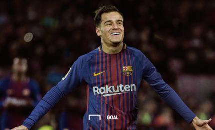 Il Barcellona presenta il super acquisto Coutinho