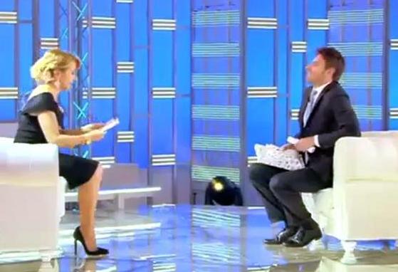 Paola Caruso in lacrime a Domenica Live: