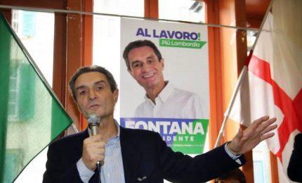 Fontana shock su Radio Padania, razza bianca a rischio