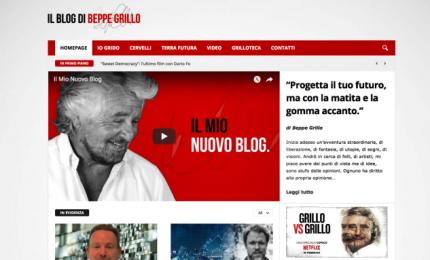 Grillo divorzia dalla Casaleggio associati e presenta il nuovo blog