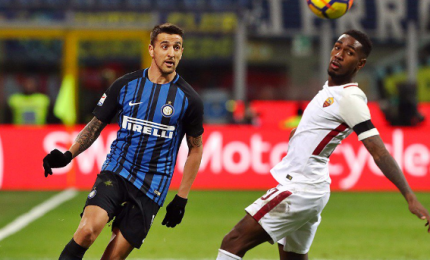 Vecino replica a Shaarawy, Inter-Roma 1-1