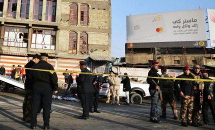 Doppio attentato suicida a Baghdad, almeno 31 morti