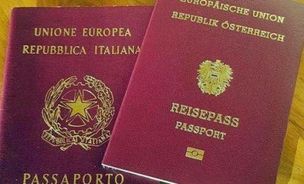Doppia cittadinanza ai cittadini dell'Alto Adige, incontro Alfano-Kneissl