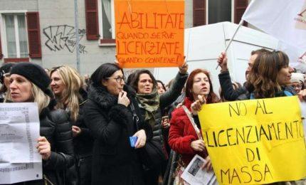 Sciopero scuola, migliaia di maestri precari manifestano in diverse città