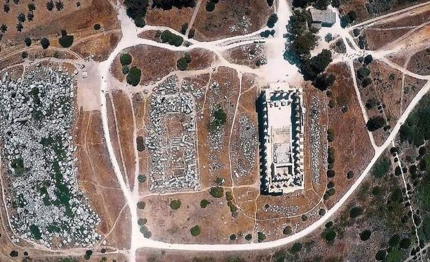 Droni e visioni 3D, emerge la Selinunte di 2700 anni fa