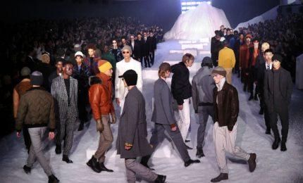 Moda, sfilata tra i ghiacci per Ermenegildo Zegna