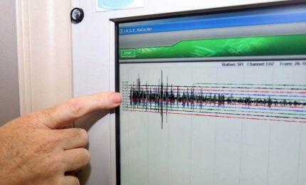 Scossa terremoto magnituto 3.5 a L'Aquila