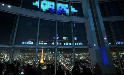 Gli alieni sbarcano a Tokyo per i 40 anni di Space Invaders
