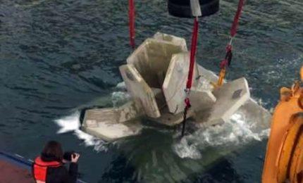 Enormi scogli artificiali subacquei alle Calanques di Marsiglia