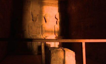 Egitto, boom di turisti per l'allineamento del sole su Ramses II