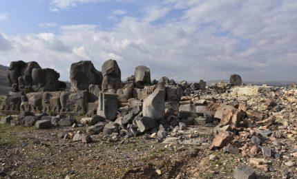 Ain Dara, tempio ittita in Siria colpito dalle bombe turche