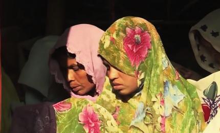 In Bangladesh un campo profughi per le donne vedove Rohingya