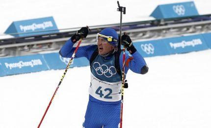 PyeongChang, la gioia di Bronzo per la staffetta mista biathlon