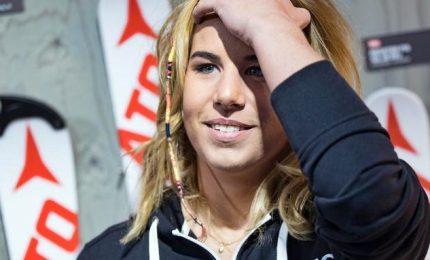 """Super G femminile, vince a sorpresa Ledecka. Goggia 11esima: """"Peccato"""""""