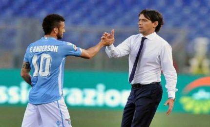 Rissa sfiorata Inzaghi-Anderson, ma la Lazio ridimensiona