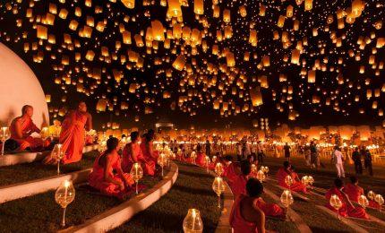Taiwan, il festival delle lanterne incanta il cielo di Taipei