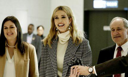 Ivanka Trump in Corea del Sud, prove di diplomazia olimpica