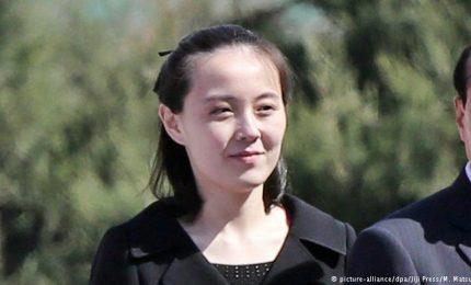 La sorella di Kim Jong Un in Corea del Sud per i Giochi Olimpici invernali