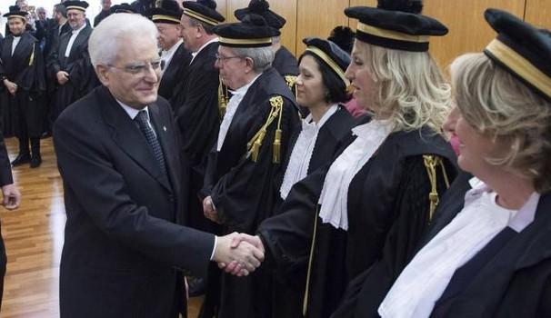 Corte dei Conti, insediamento del nuovo presidente