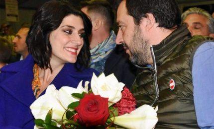 Salvini-Isoardi a Sanremo: parlo di musica non di politica
