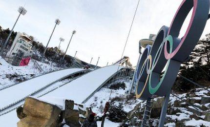 Nevicata a PyeongChang, imbiancati i siti olimpici