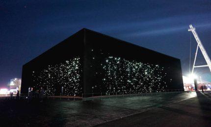 Tecnologia che diventa arte, le stelle e il buio di PyeongChang