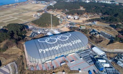 Prime immagini degli impianti Olimpiadi di Pyeongchang
