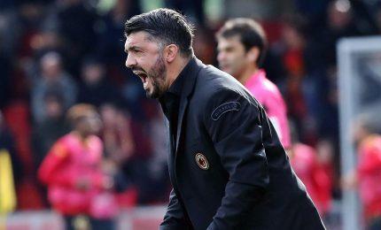 """Gattuso: """"Qualificazione non è in tasca"""". Silva sarà titolare"""