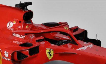 Formula 1, ecco la nuova Ferrari SF71H. Tra le novità più evidenti, il sistema Halo