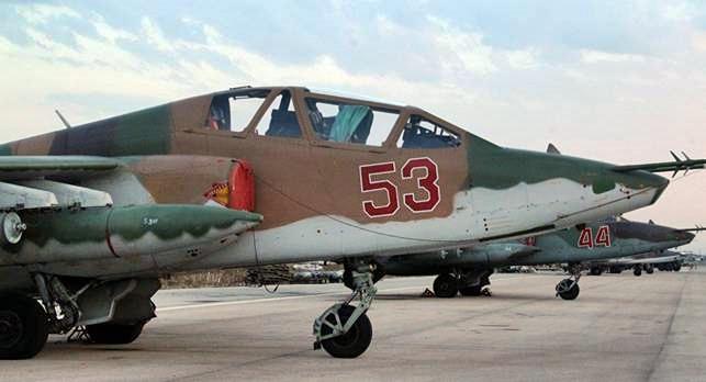 Jet russo abbattuto in Siria