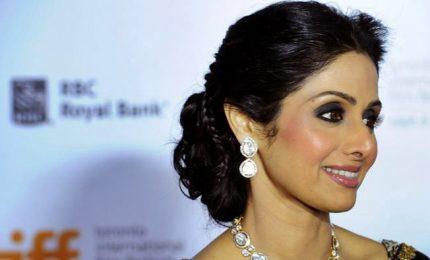 Morta a 54 anni per infarto la diva di Bollywood Sridevi Kapoor