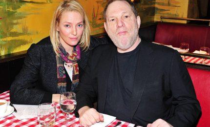 """Uma Thurman rivela molestie di Harvey Weinstein: """"Mi sbattè sul letto. Cercò di spingersi dentro..."""". L'attrice ha un video"""